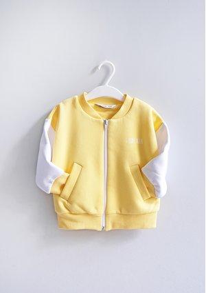 Bluza bomberka dziecięca Sour Yellow