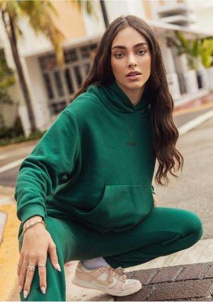 Women's hoodie Deep Green