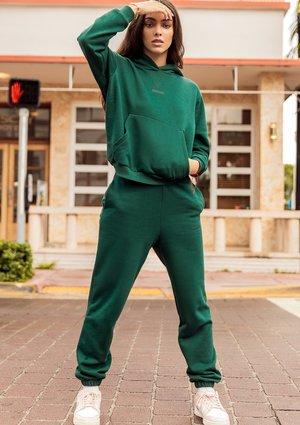 Spodnie dresowe Deep Green ILM