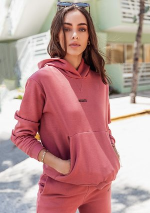 Women's hoodie Dusty Rose