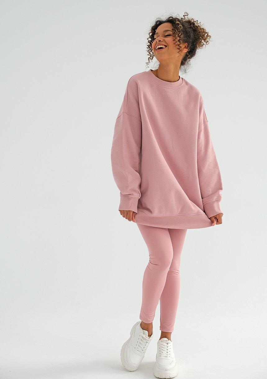 Women's oversize sweatshirt Mellow Rose