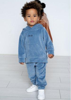 Dziecięce spodnie welurowe Jeans Blue ILM