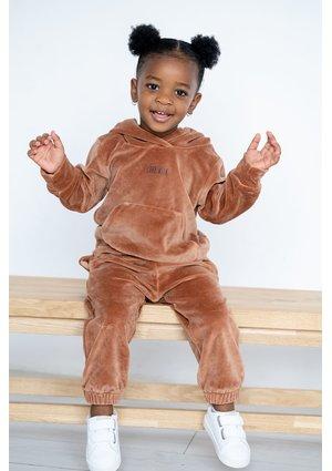 Dziecięce spodnie welurowe Toffee ILM