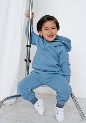 Dziecięca bluza z kapturem Faded Denim ILM