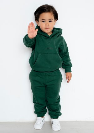 Dziecięca bluza z kapturem Deep Green ILM