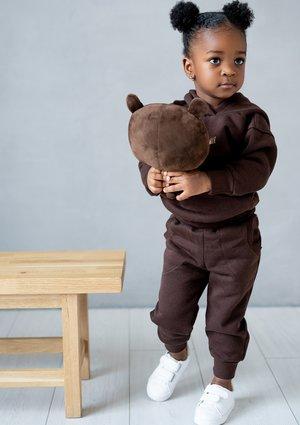 Spodnie dziecięce Dark Brown ILM