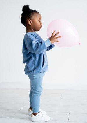 Legginsy dziecięce Jeans Blue ILM